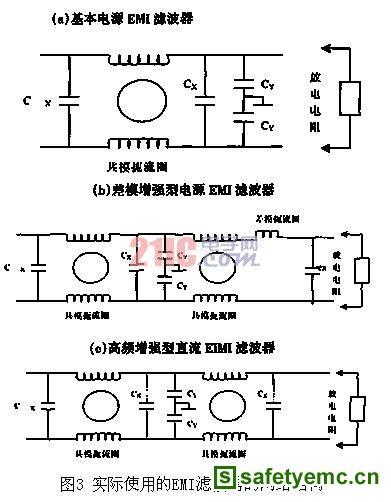 直流电源emi滤波器的设计