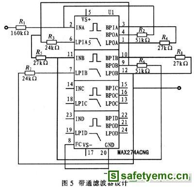 经ad637转换后的信号需再经maxl97实现a/d转换,并送至控制系统处理.