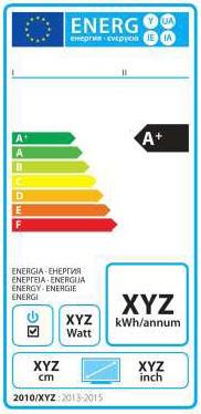 欧盟新的电冰箱、洗衣机、洗碗机、电视机能源标识法规即将出台