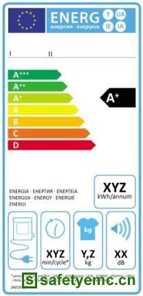 欧盟正式发布家用滚筒干衣机新能效标识条例