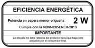墨西哥发布电子电器设备能效待机新标准NOM-32-ENER-2013