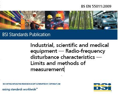 BS EN55011:2009 工业、科学和医疗设备-无线频率 限值和测量方法