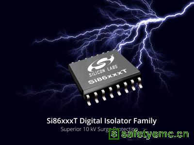 Silicon Labs推出具有强大10kV电压浪涌保护的数字隔离器