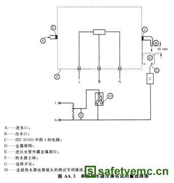 浅谈家用储水式电热水器接地安全试验_安规与电磁兼容