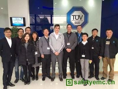 TUV SUD上海电磁兼容实验室顺利通过美国A2LA资质审核