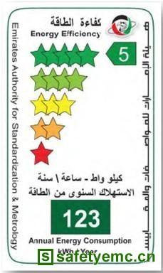 阿联酋针对照明产品开始实施强制性ECAS能效认证