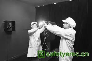 远方高端检测设备用于神州十一号照明系统研发