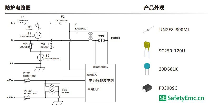 电表采集器智能抄表模块防护方案—硕凯电子