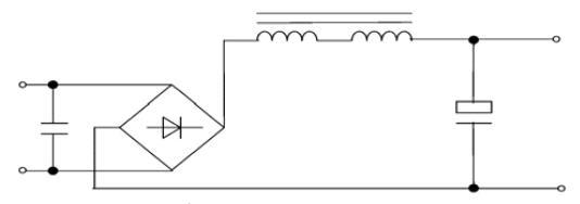 低频滤波器被动功率因数校正电路