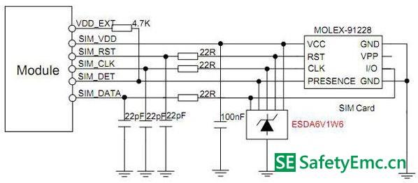 05pf的电容,可以保证高频,高速信号的完整传输.