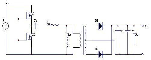 llc串联谐振拓扑结构