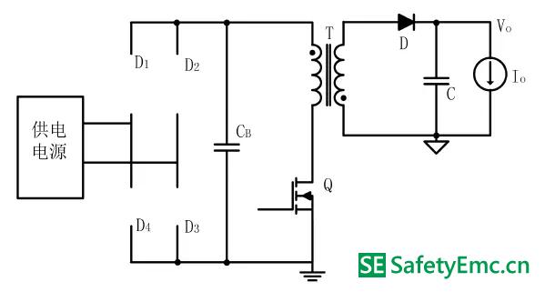 4-A:工作模式Ⅱ-Ⅰ的等效电路