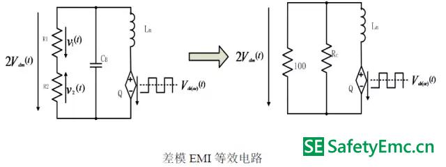 EMI 最终等效电路