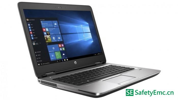 惠普宣布全球召回5万台因电池存过热隐患笔记本电脑