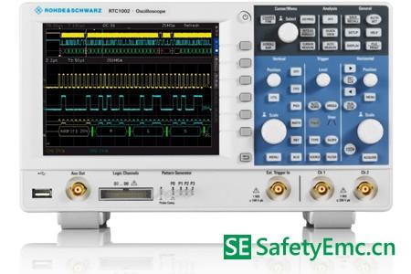 R&S公司发布RTC1000系列紧凑经济型示波器