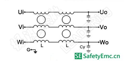 输出滤波器电路图