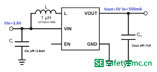 TPS61256A的原理图和参数
