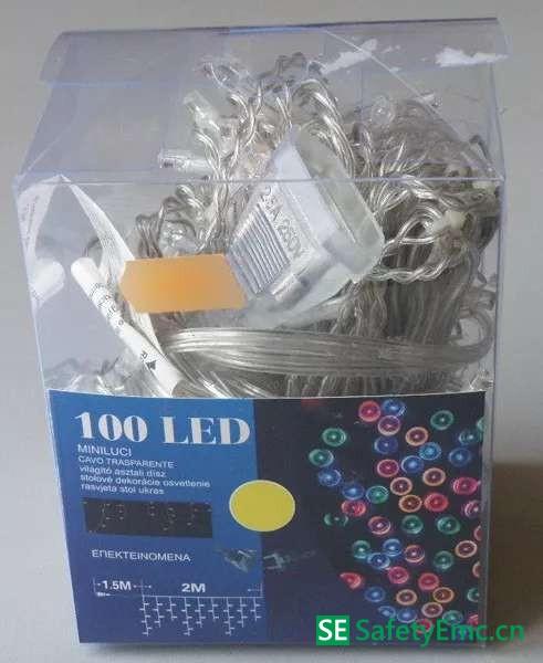 出口匈牙利的一款LED灯串因安全问题被召回